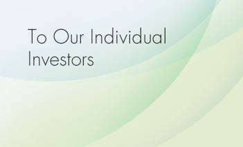 To Our Individual Investors