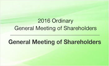 2016 Ordinary General Meeting of Shareholders - General Meeting of Shareholders
