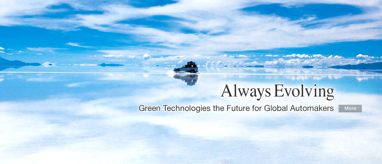 Always Evolving - Green Technologies the Future for Global Automakers