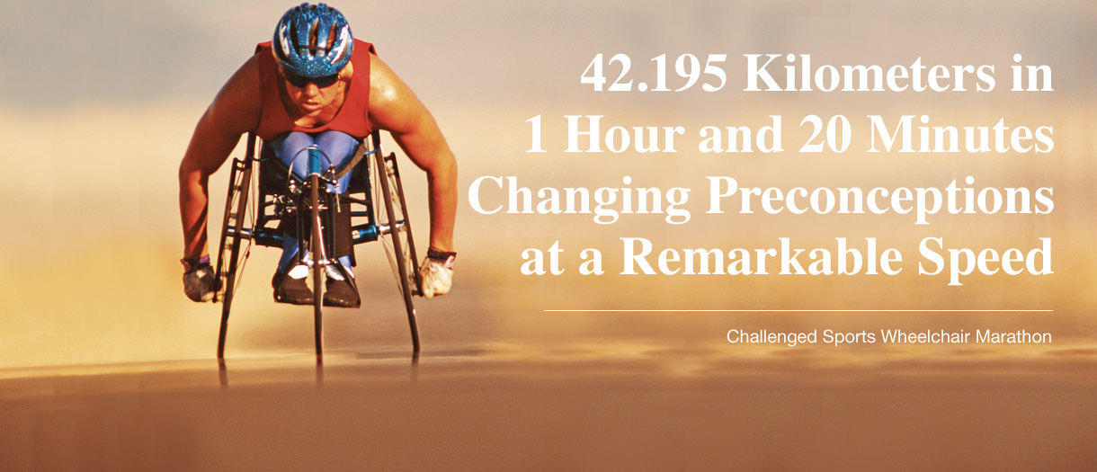 42.195 Kilometers in 1 Hour and 20 Minutes Changing Preconceptions at a Re