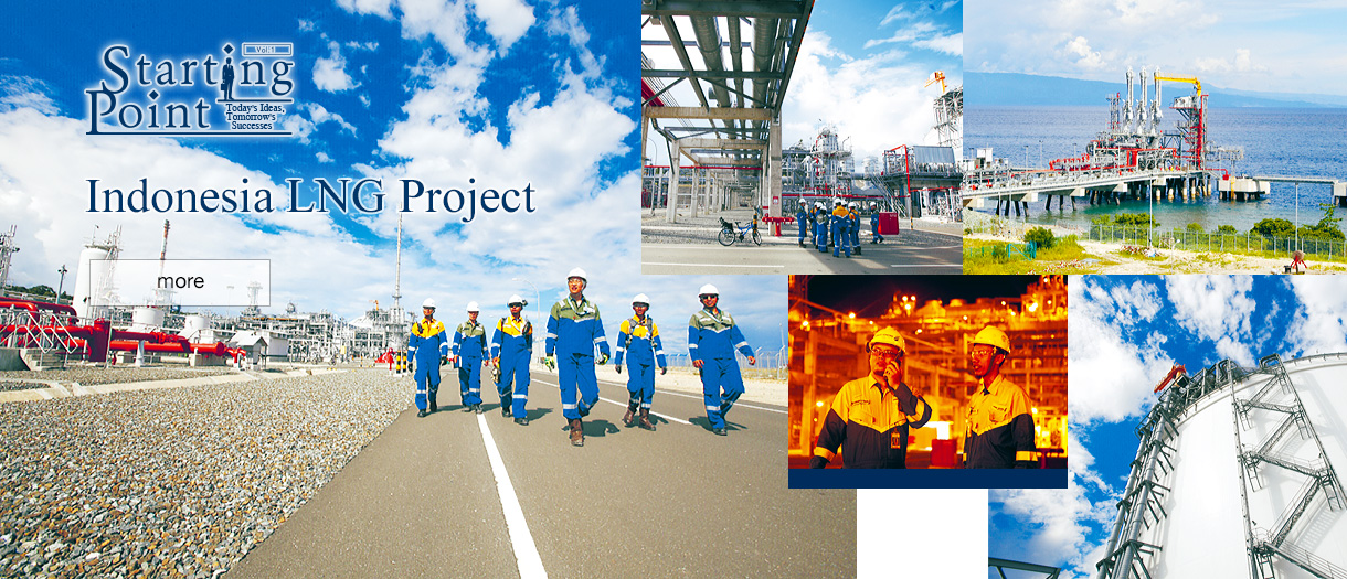 Starting Point: Today's Ideas, Tomorrow's Successes  Indonesia LNG Project