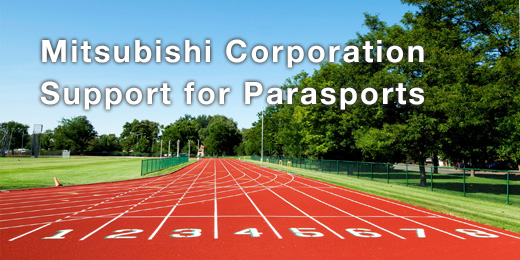 Mitsubishi Corporation supports Parasports