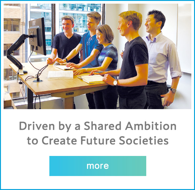 Driven by a Shared Ambition to Create Future Societies