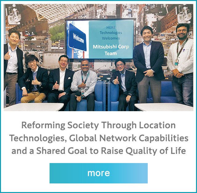 Reforming Society Through Location Technologies, Global Network Capabilities and a Shared Goal to Raise Quality of Life