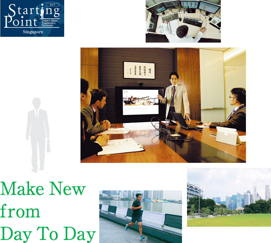 Starting Point : Today's Ideas, Tomorrow's Successes Vol.7 Singapore Make New from Day To Day